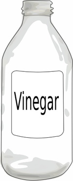 Vinegar clipart black and white » Clipart Station.