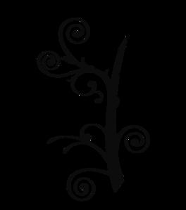 Vine Clipart Black And White.