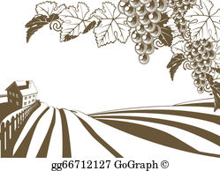 Vineyard Clip Art.
