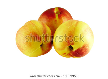 Nectarine Tree Stock Photos, Royalty.
