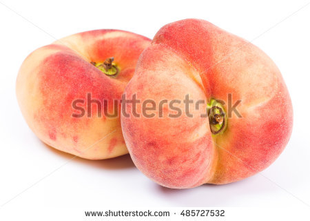 Vineyard Peaches Stock Photos, Royalty.