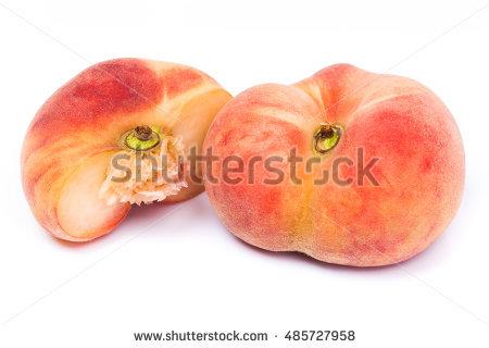 Vineyard Peaches Stock Photos, Royalty.