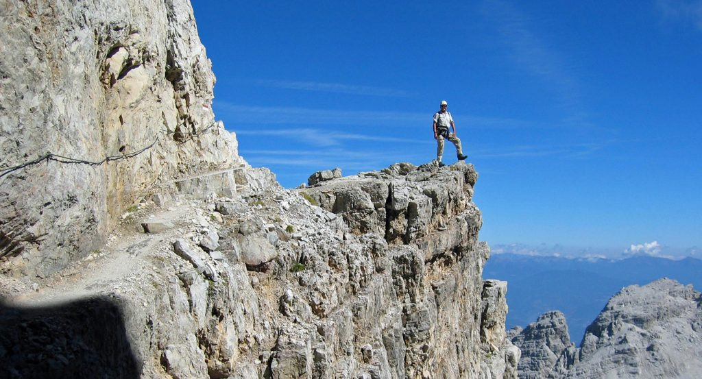 Brenta Dolomites Guided Via Ferrata Hut Trek.