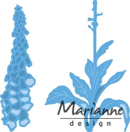 Marianne D Creatable Tiny`s vingerhoedskruid LR0452.