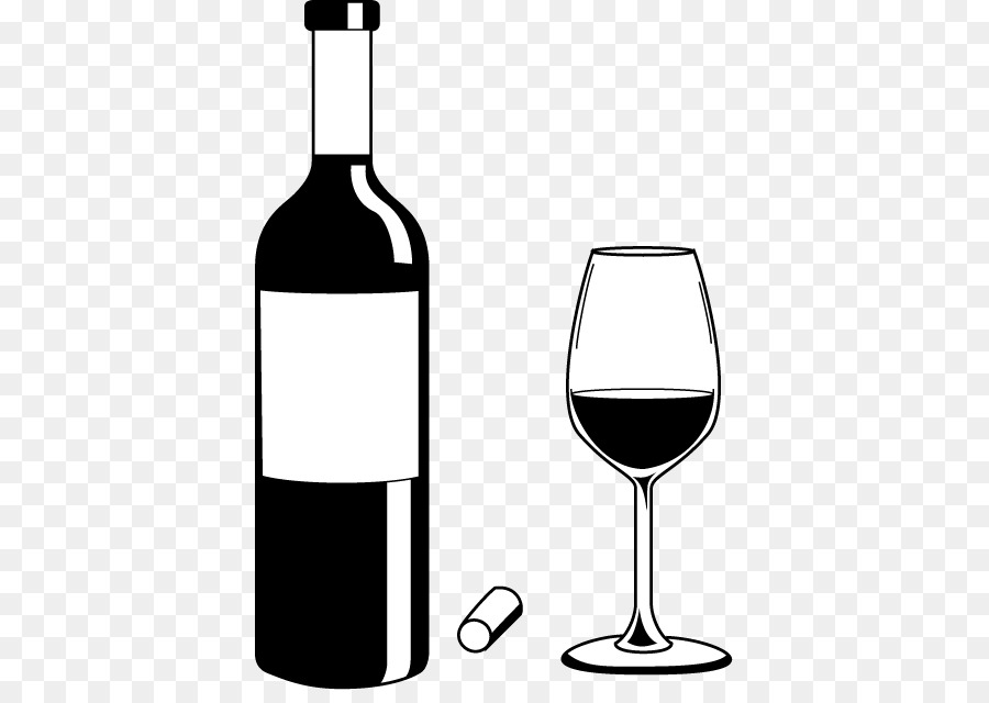 Wine Bottle Clipart Black And White.