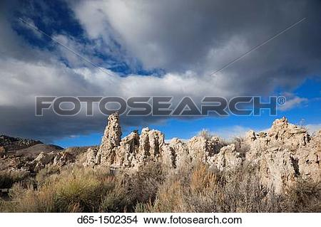Stock Photo of USA, California, Eastern Sierra Nevada Area, Lee.