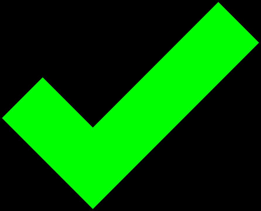 Groen vinkje png » PNG Image.