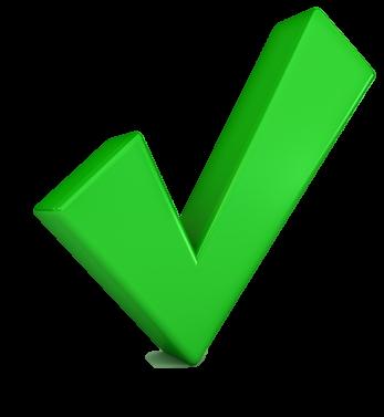 Groen vinkje png 2 » PNG Image.
