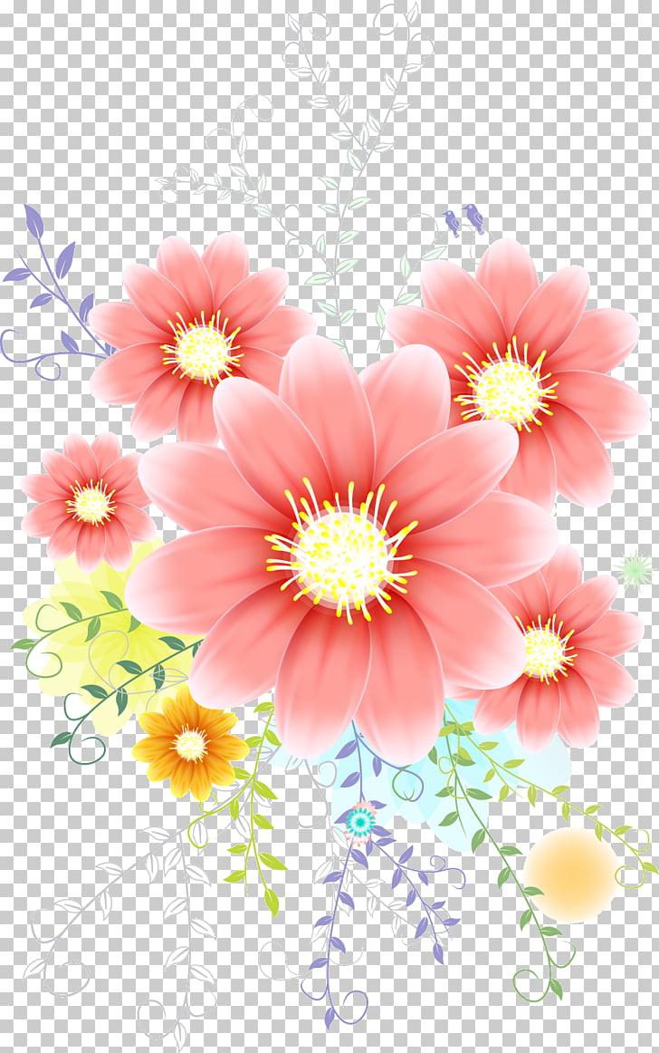 Nosegay Cut flowers, flower PNG clipart.
