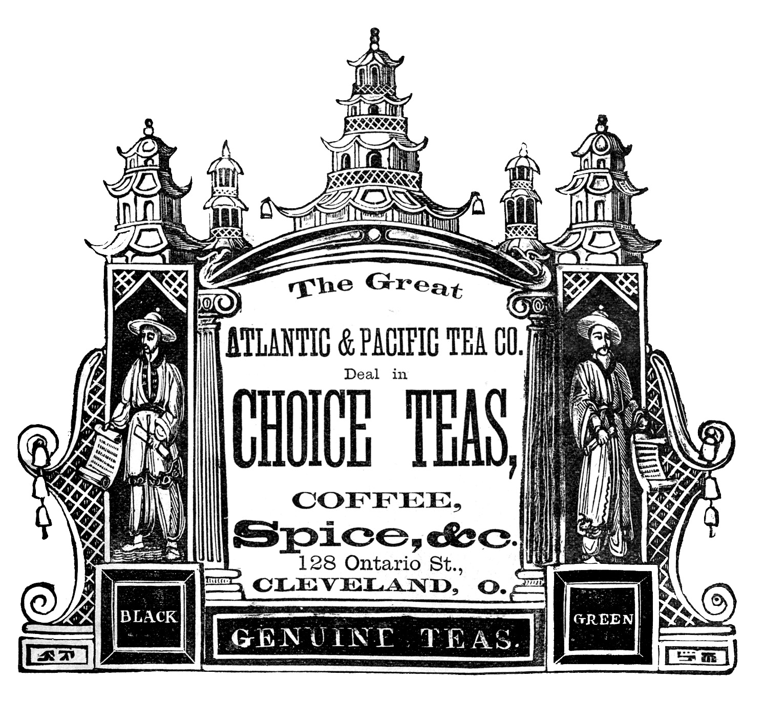 Advertising clipart black and white, Picture #215584.