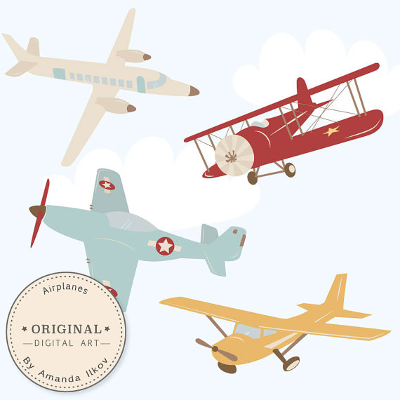 silhouette cameo design: View Design: airplane.