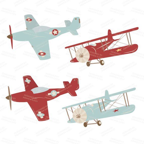 Professional Airplane Clipart & Airlplane Vectors.