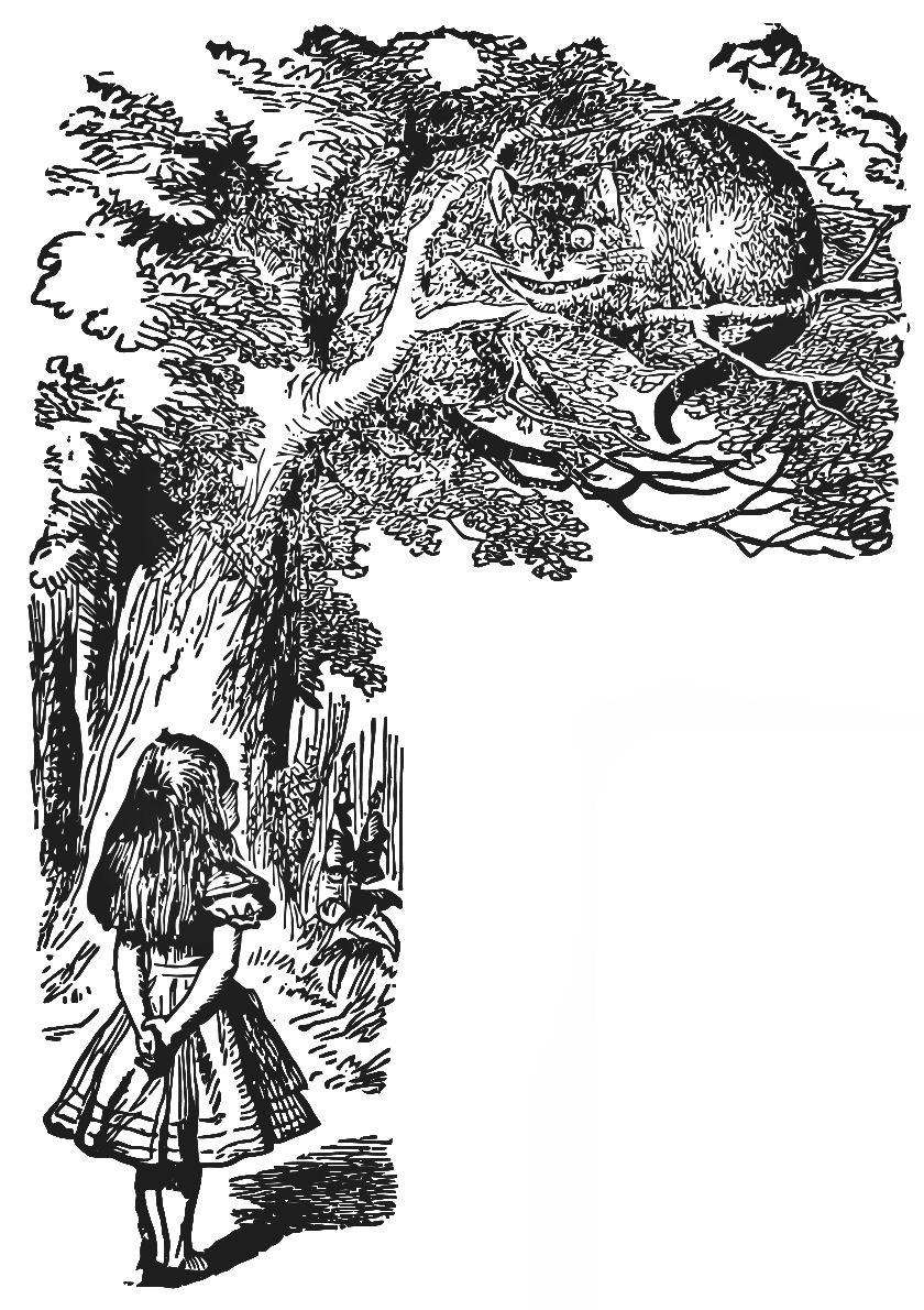Alice in Wonderland Clip Art.