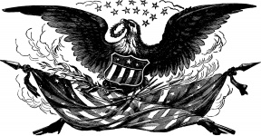 Free Patriotic Vintage American Flag Clip Art Clipart. Snowjet.co.