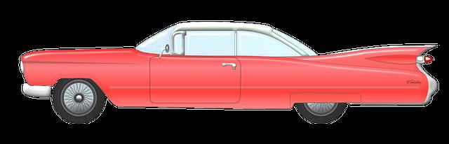 Free to Use & Public Domain Vintage Car Clip Art.
