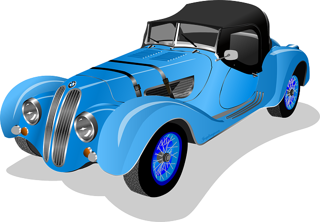 Retro car clipart - Clipground