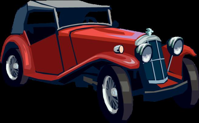 Vintage Cars Png.