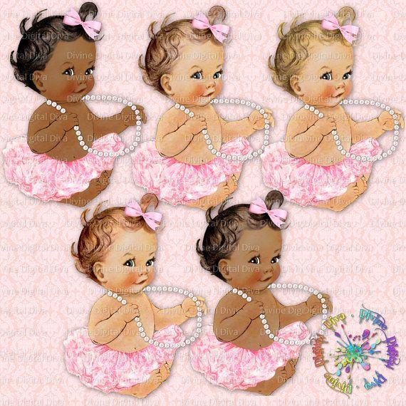 Sitting Ballerina Pink Tutu Pearls.