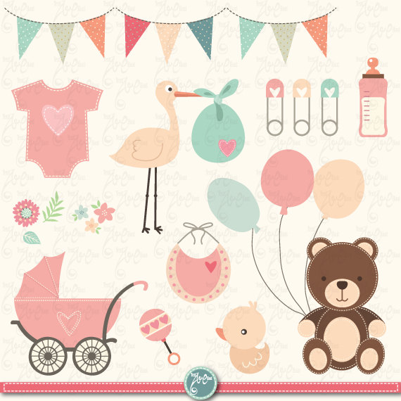 Baby Shower Clipart: \