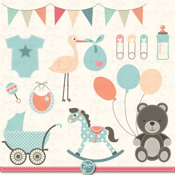 Baby Shower Clipart \