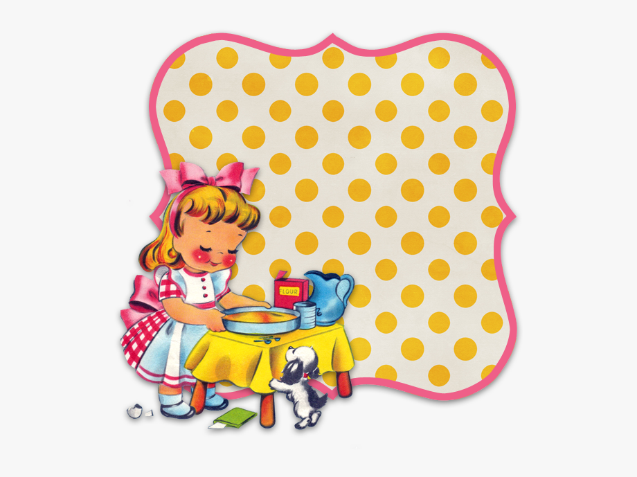 Retro Baking Clipart.