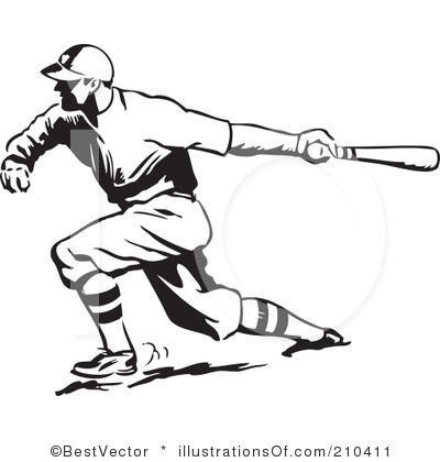 Vintage Baseball Player Clip Art Pictures to Pin on Pinterest.