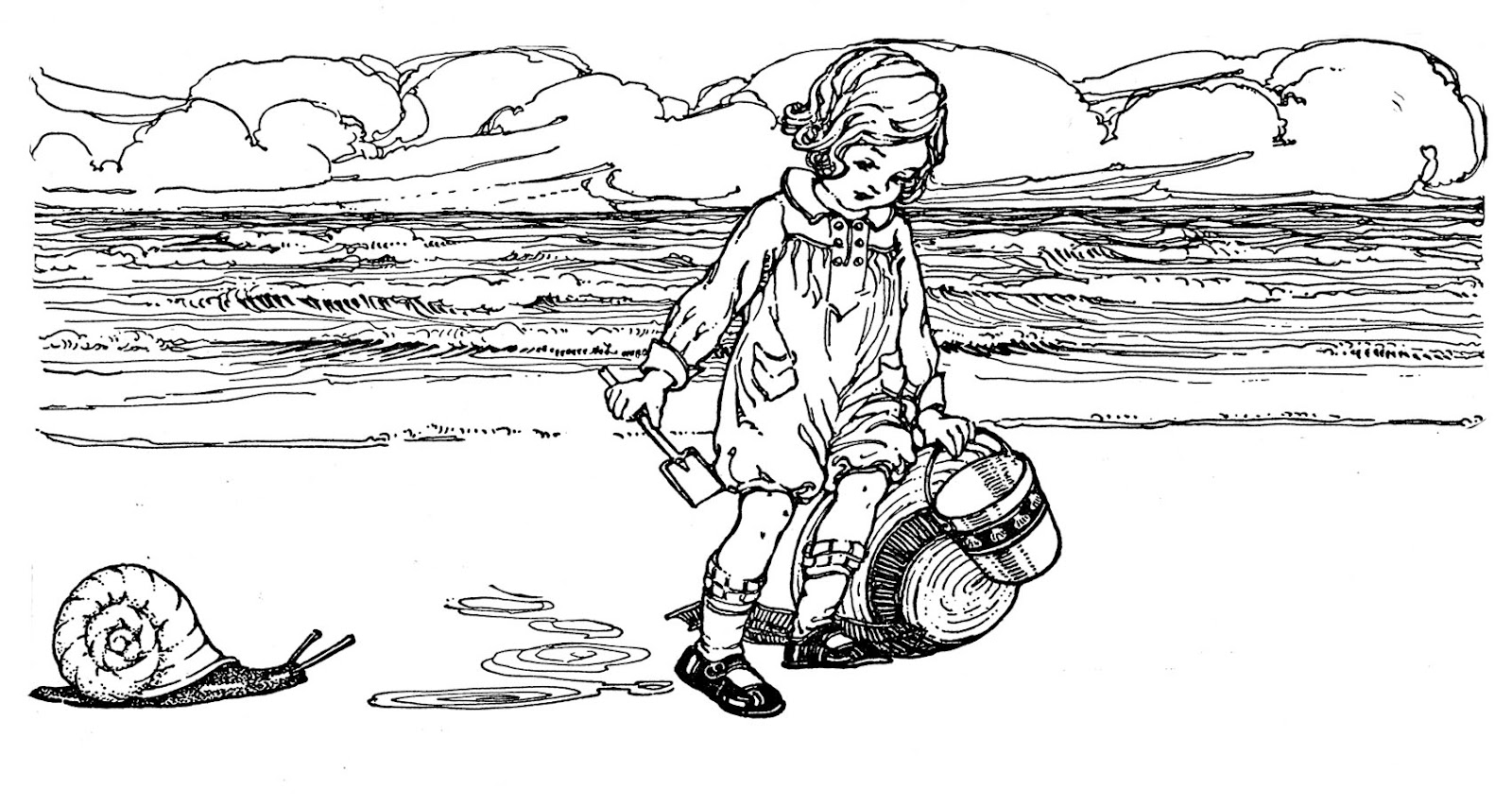 Free Vintage Beach Cliparts, Download Free Clip Art, Free.
