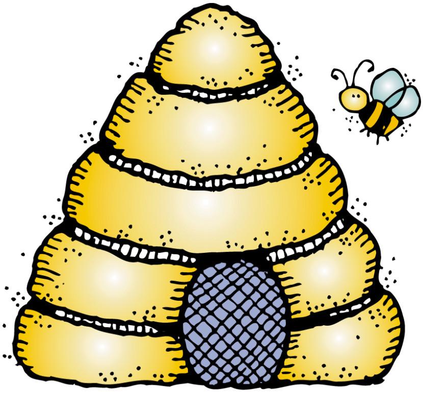 Beehive vintage bee hive clipart kid.