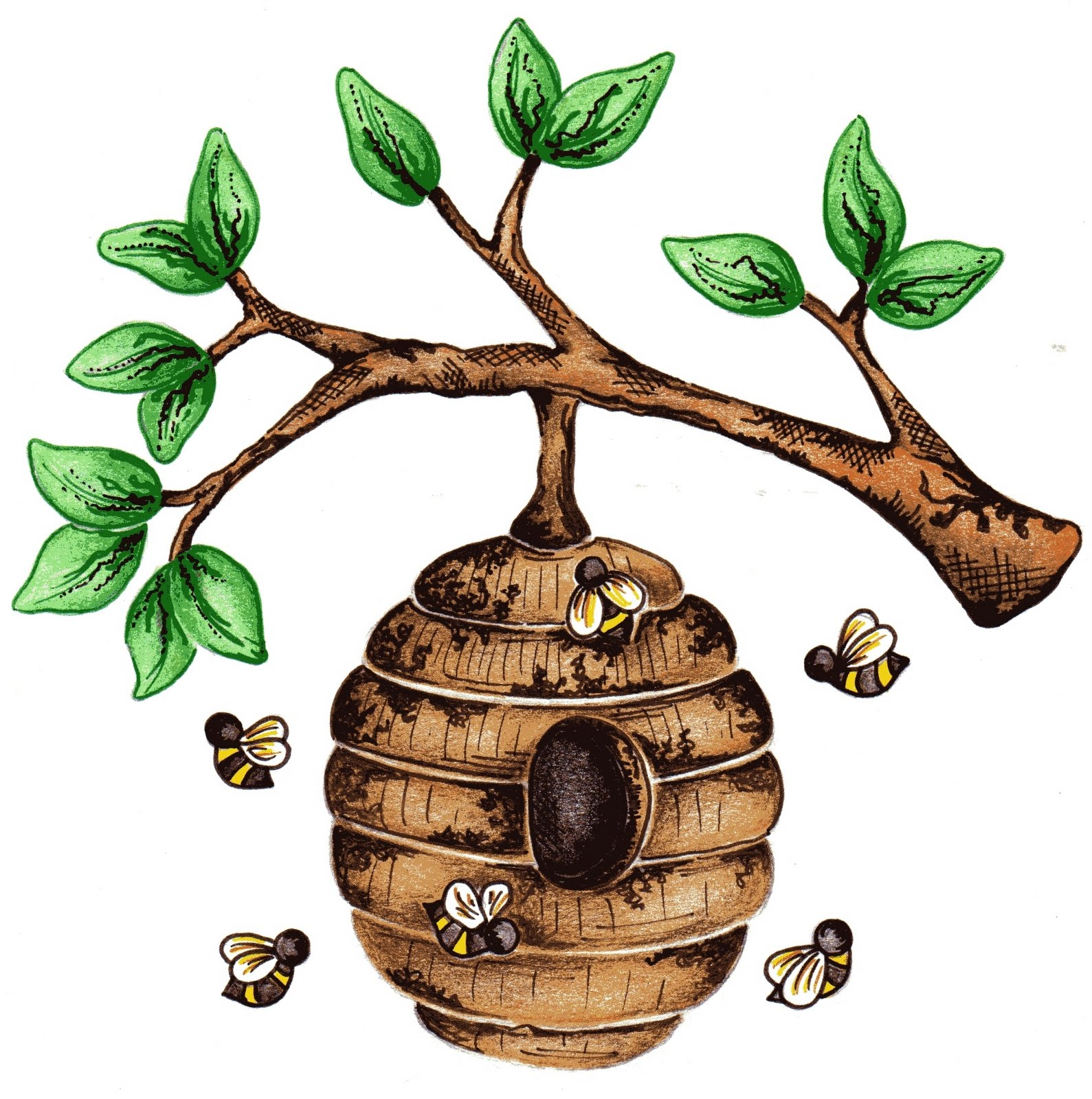 Free Bee Hive Images, Download Free Clip Art, Free Clip Art.