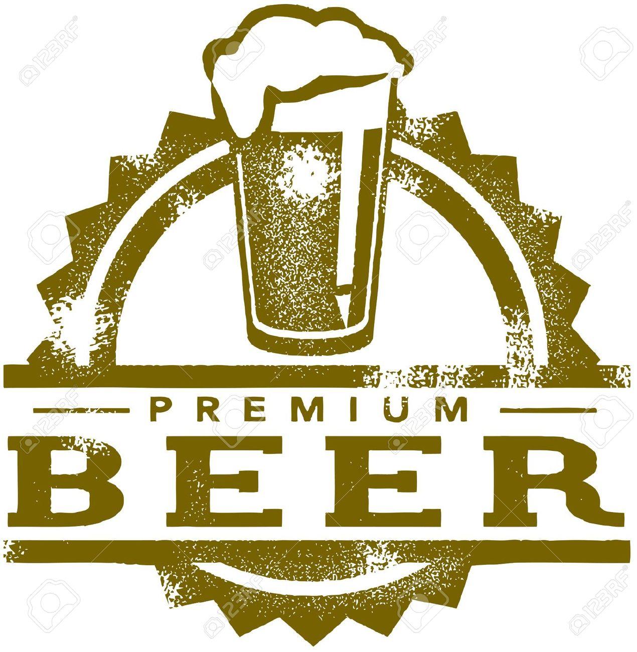 draft beer: Vintage Premium.