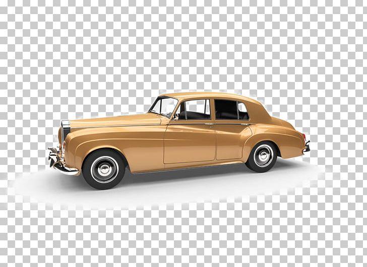 Vintage Car Rolls.