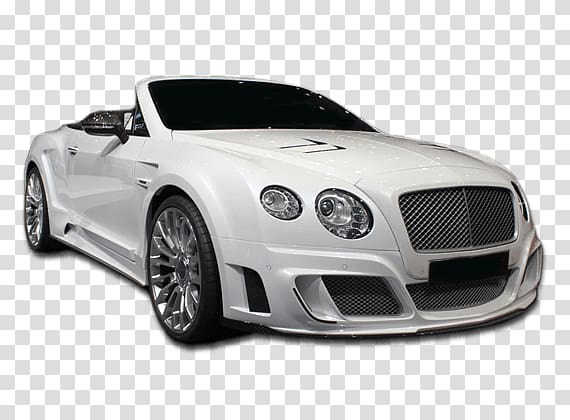 White Bentley Continental GT convertible coupe, Convertible.