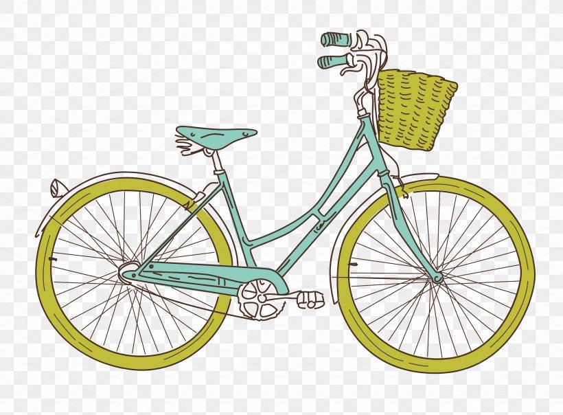 Clip Art: Transportation Bicycle Cycling Clip Art, PNG.