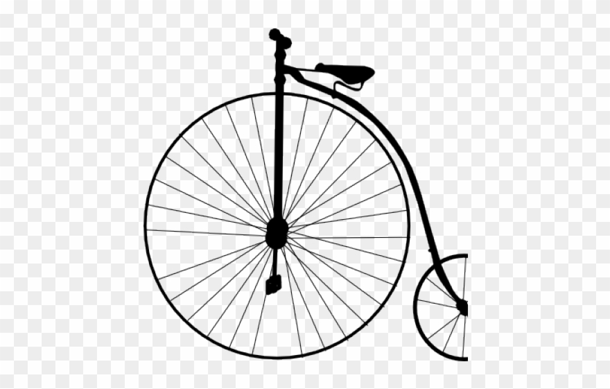 Cycling Clipart Old Bicycle.