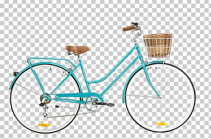 City Bicycle Cycling Retro Style Single.
