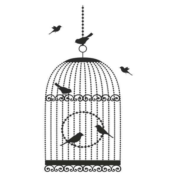 Birdcage Clip art.