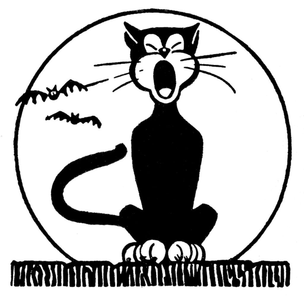 14 Black Cat Clipart.