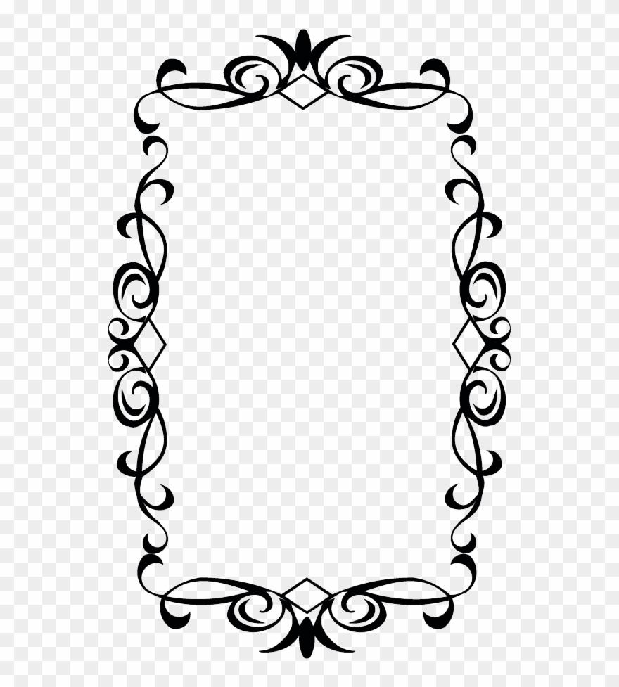 Wedding Borders Clip Art.