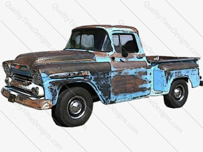 vintage truck , Free clipart download.