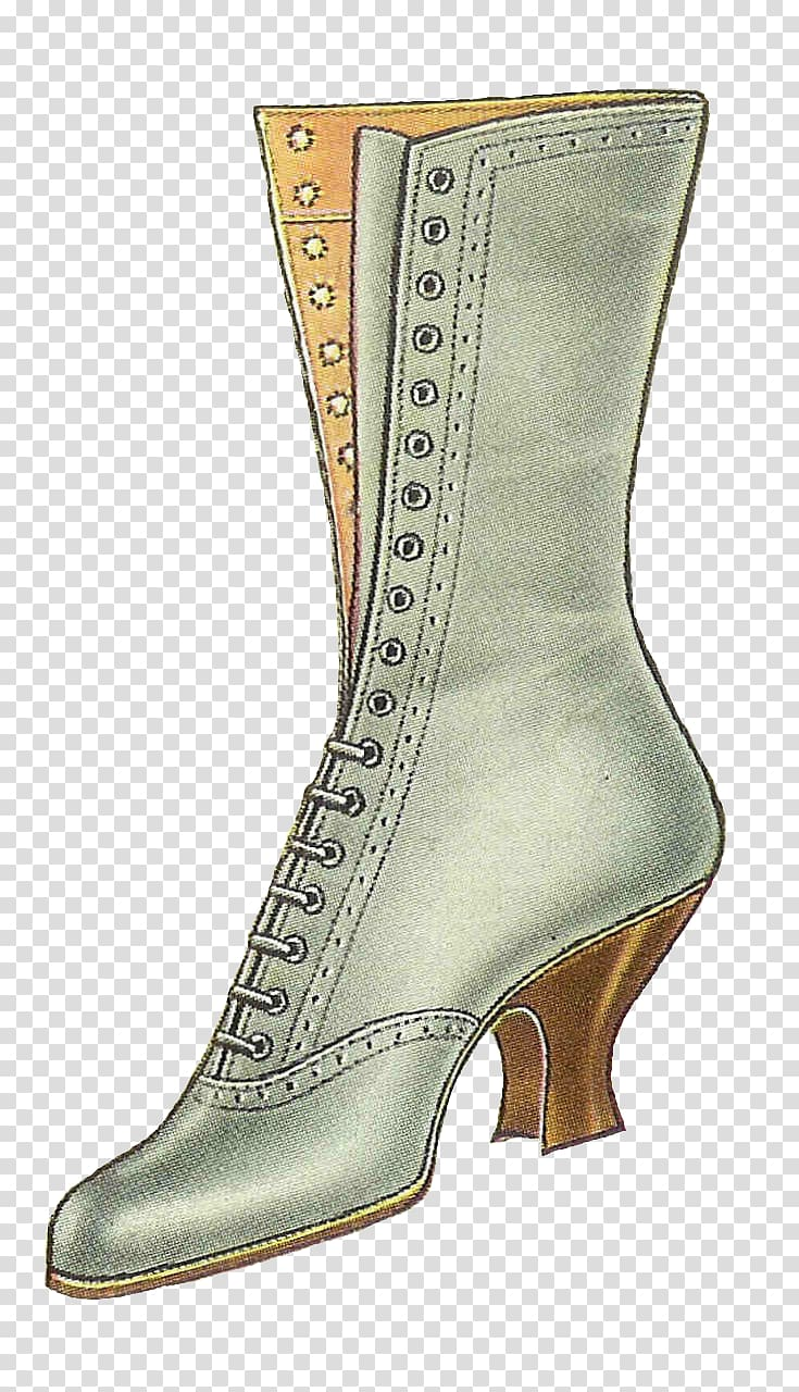 Fashion boot Fashion boot Vintage , boot transparent.