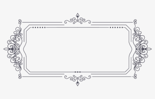 Free Vintage Border Clip Art with No Background.