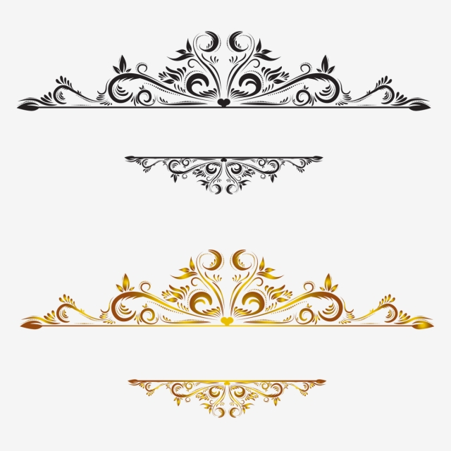 Vintage Border Png, Vector, PSD, and Clipart With.