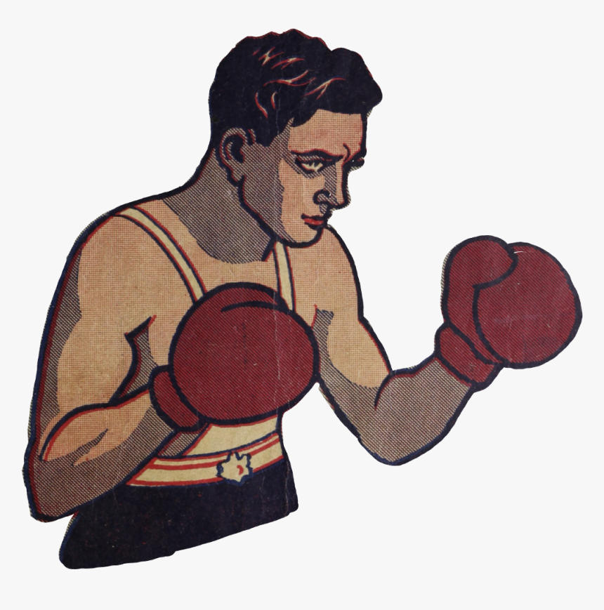Retro Clipart Boxing.