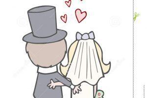 Vintage bride clipart 1 » Clipart Portal.