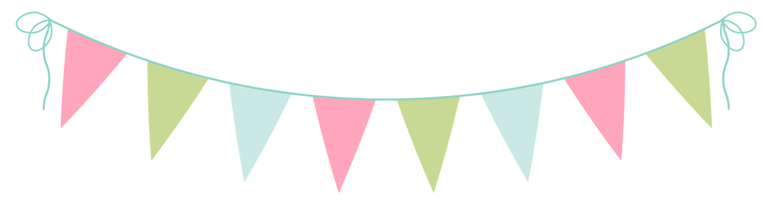 30+ Bunting Clipart.