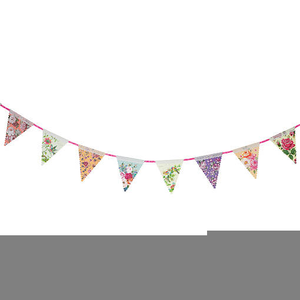 Free Vintage Bunting Clipart.
