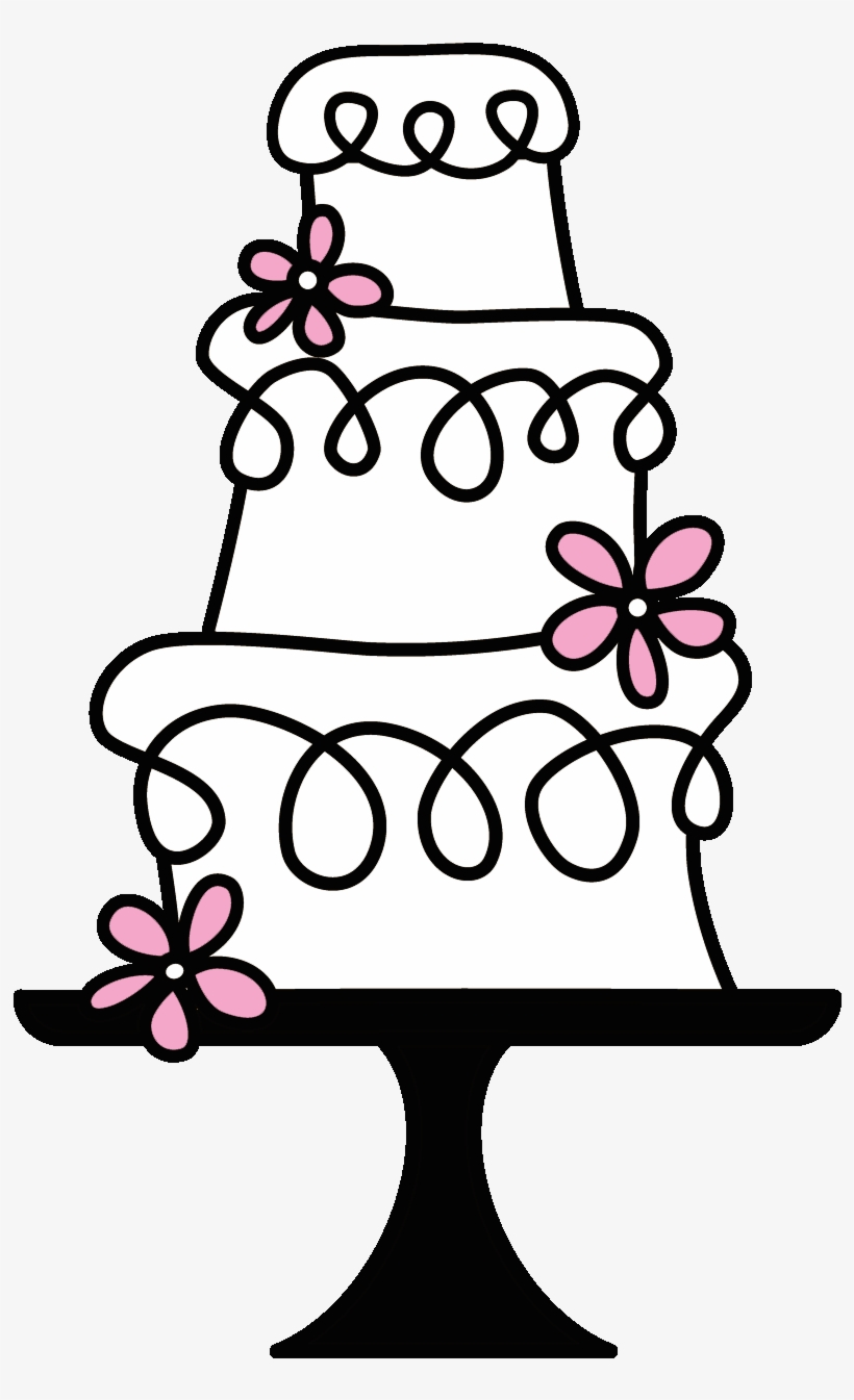Wedding Cake Clipart Transparent.