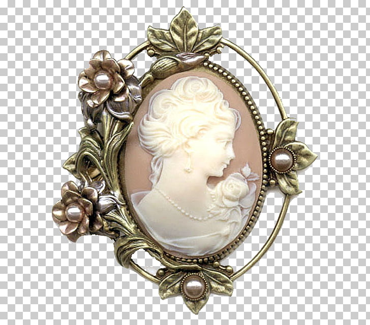 Cameo Brooch Jewellery Pin Vintage clothing, Jewellery PNG.