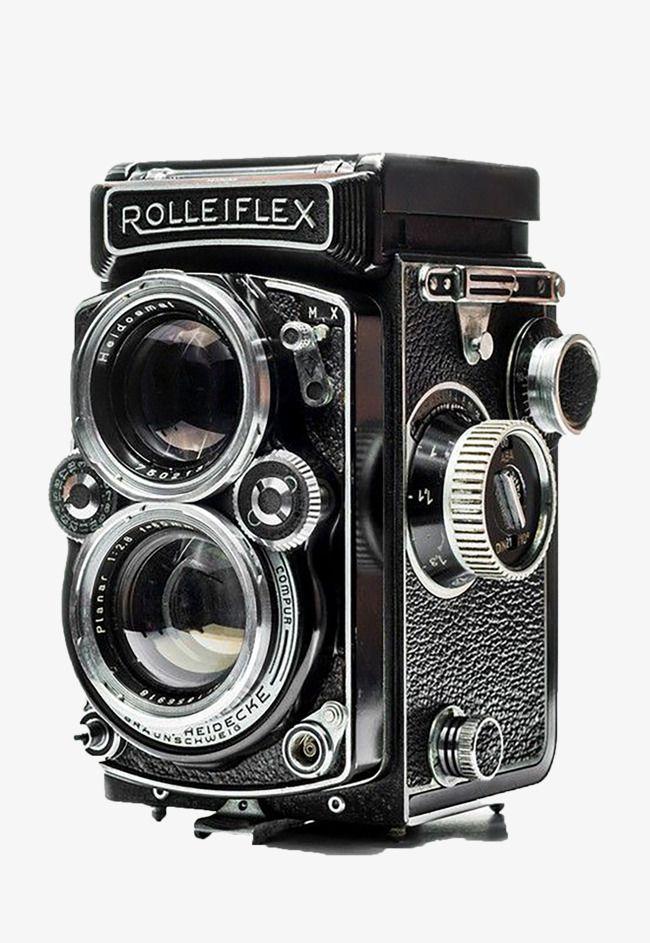Black Old Camera.