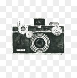 443 Vintage Camera free clipart.